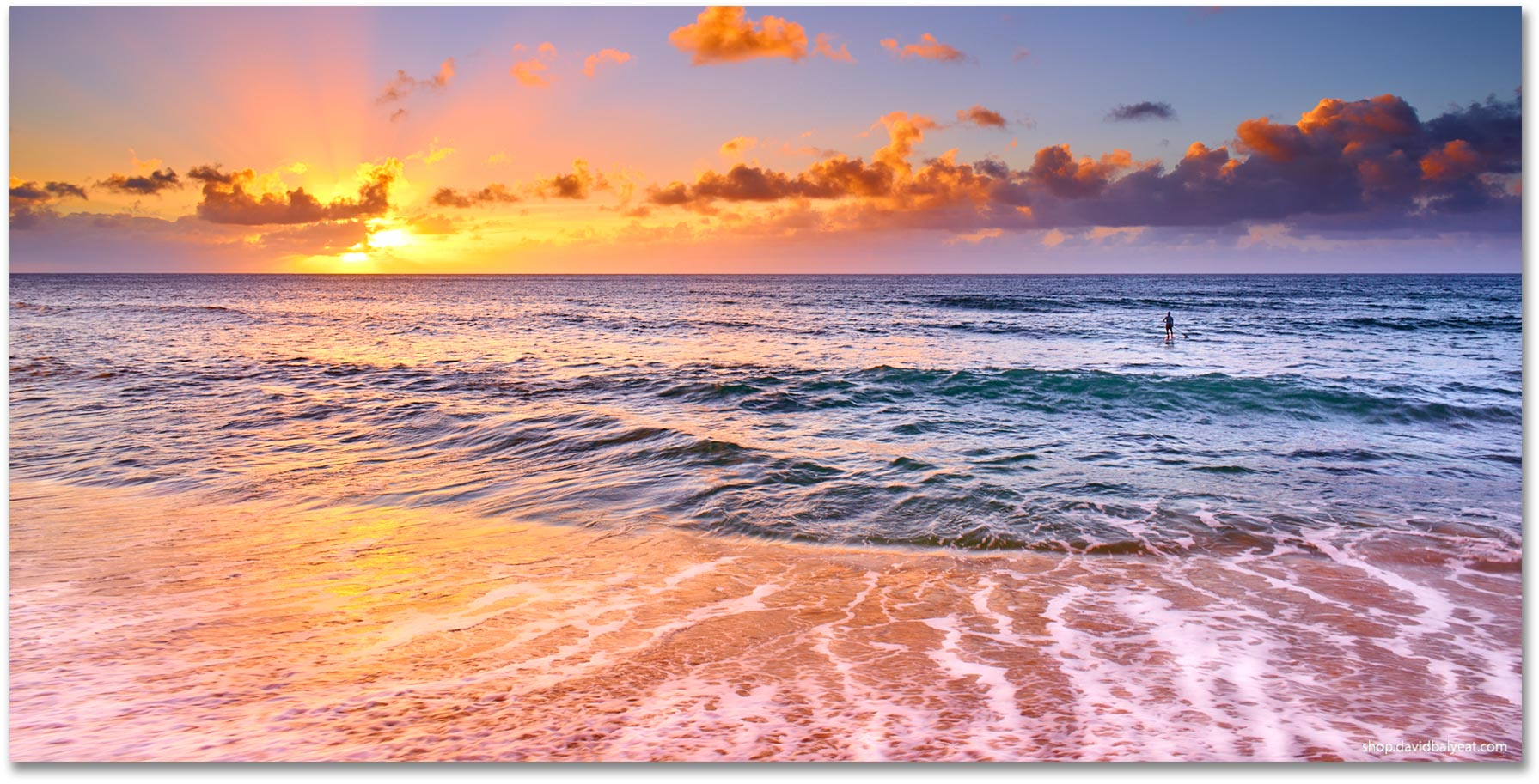 Sunset Beach Hawaii Oahu North S High Definition Hd Professional Landscape Photography