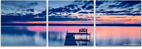 Finger Lakes New York dream sunrise panoramic high-definition HD photography