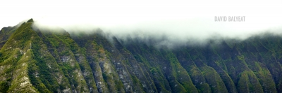 Koolau Cliffs Hawaiian volcanic mountains high-definition HD professional landscape photography