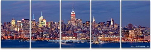 New York City Midtown Manhattan skyline fine art cityscape photography