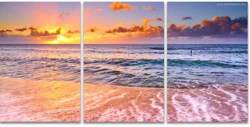 Sunset Beach Hawaii Oahu North Shore high-definition HD professional landscape photography