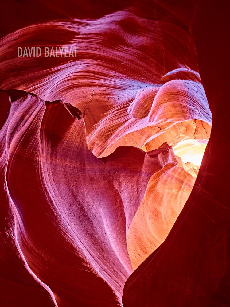 Angel's Heart Antelope Canyon Arizona high-definition HD professional landscape photography