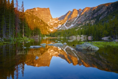 Dream Lake Rocky Mountain National Park Colorado fine art photography