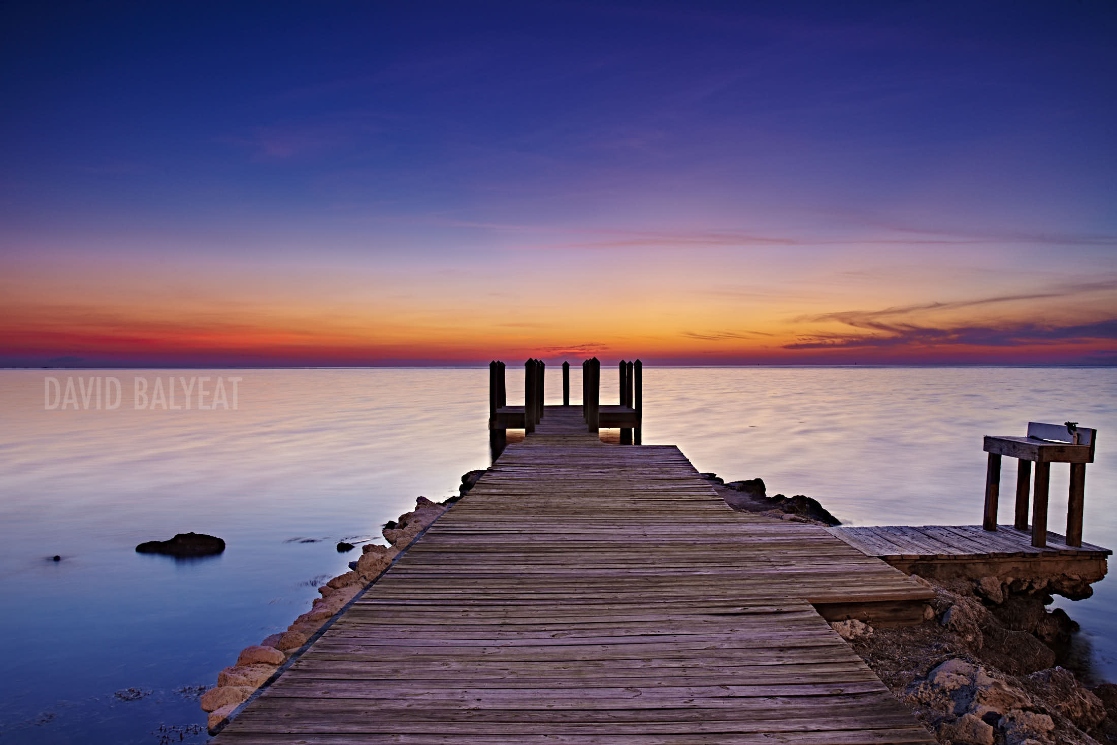 Florida Keys sunset jetty high-definition HD professional landscape photography