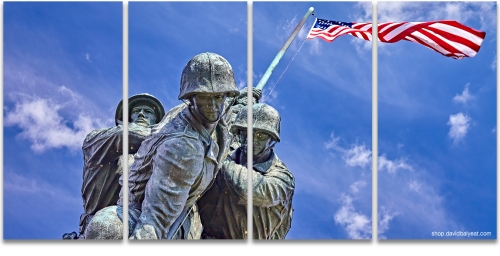 Iwo Jima Memorial Washington DC fine art photography