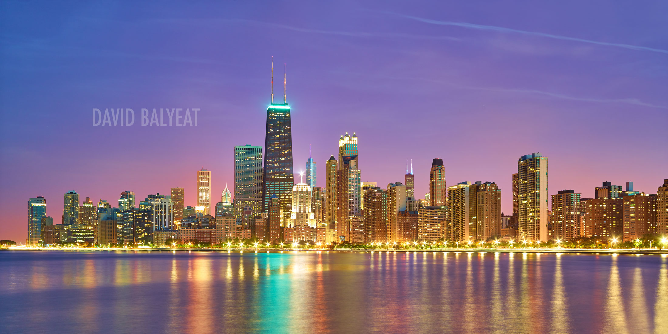 North Chicago skyline Willis Trump Tower cityscape photography