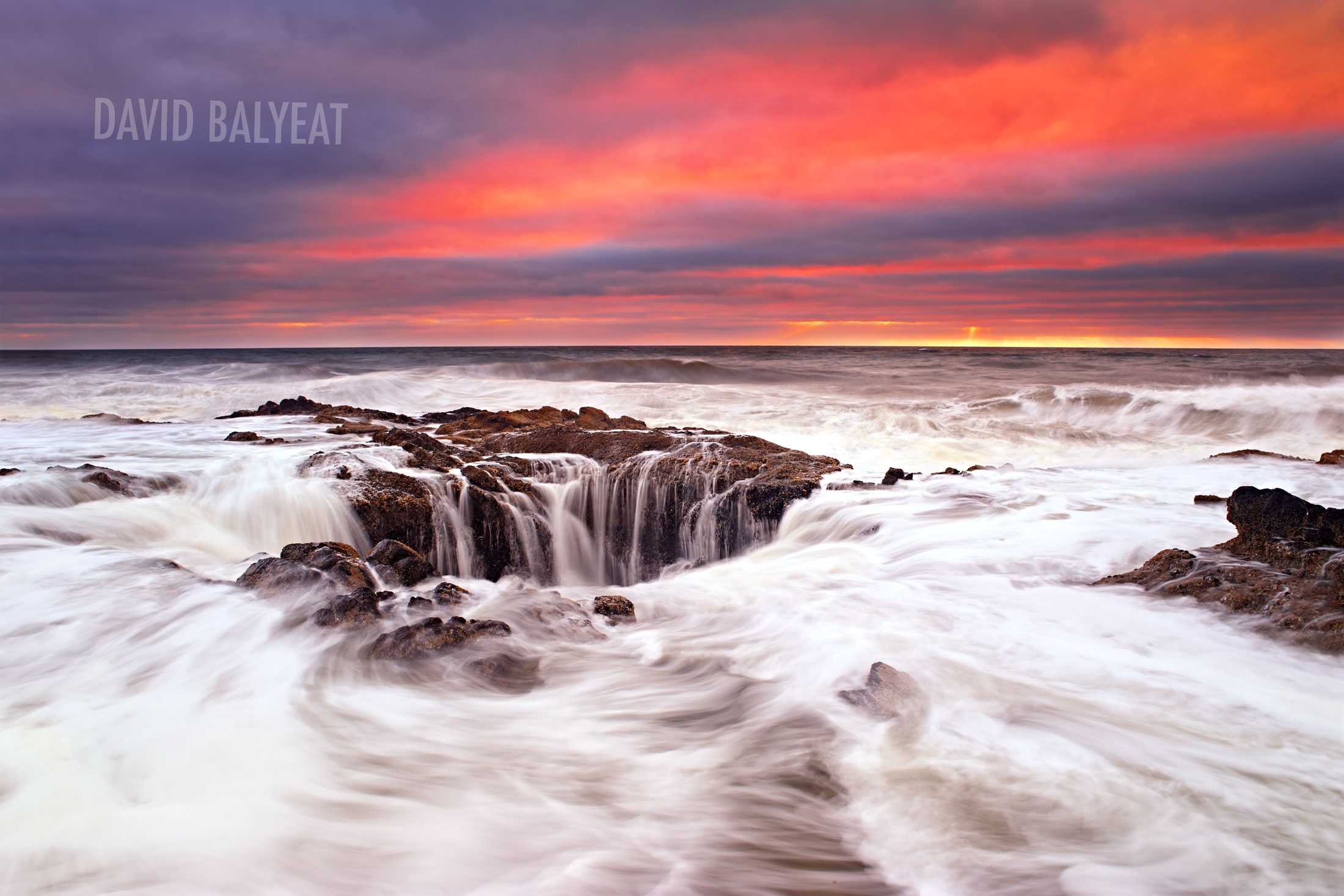Thor's Well Cape Perpetua Yachats Oregon coast fine art photography
