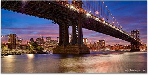 DUMBO Brooklyn New York City 1 Panel Artwork