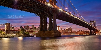 DUMBO Brooklyn New York City HD cityscape photography