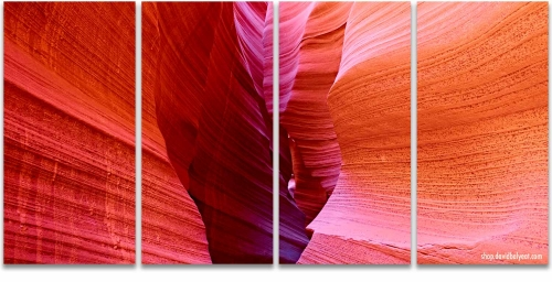 Rattlesnake Canyon abstract rock formations Arizona artwork