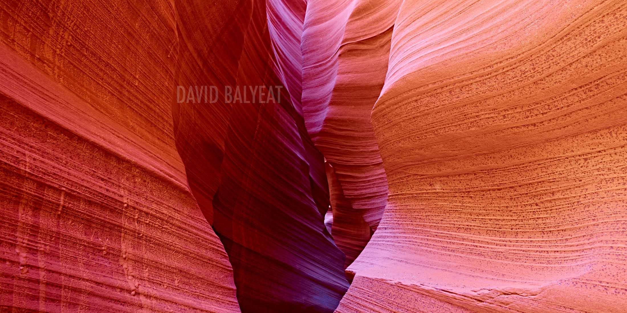 Rattlesnake Canyon abstract rock formations Arizona
