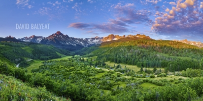 Mount Sneffels Sunrise Colorado San Juan Mountains David Balyeat Photography