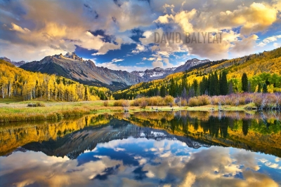 Colorado Autumn reflections mountains fall foliage high-definition HD professional landscape photography