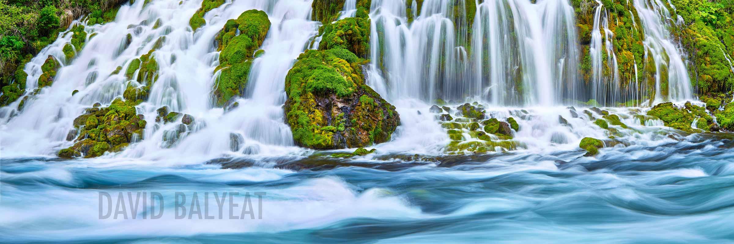 Norther California secret waterfalls living waters high-definition HD professional landscape photography