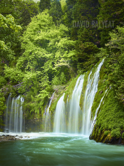Mossbrae Falls Northern California high-definition HD professional landscape photography