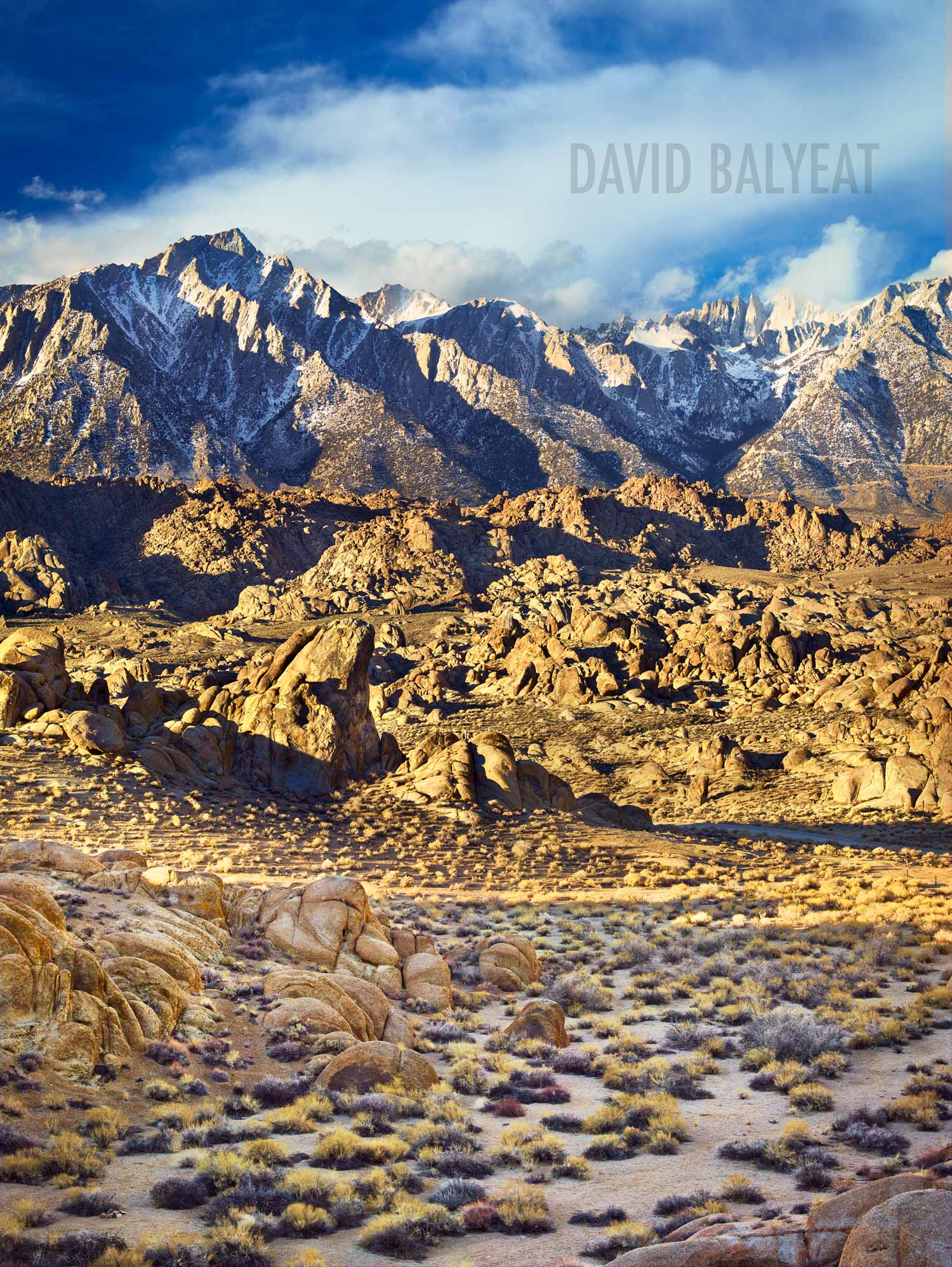 awareness in Alabama Hills near Lone Pine, California - Landscape Photography